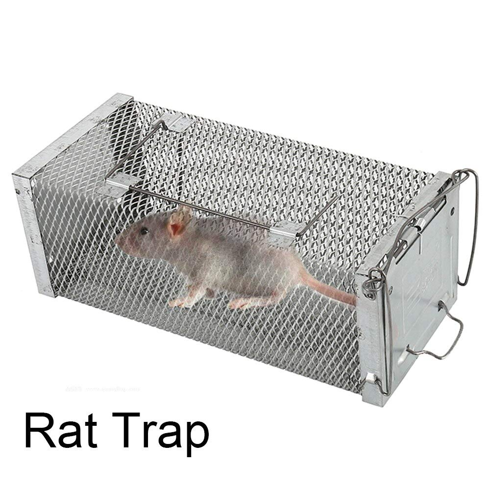 Single Door Mice Traps Cage Mice Repeller Camping Rat Trap Catch Bait Hamster Mouse Trap Cage Pest Control Cages