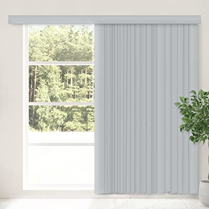 CHICOLOGY Cordless Vertical Blinds Patio Door Or Large Window Shade,  78u0026quot; W X 84u0026quot;