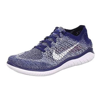low priced 671ae cc24f Nike Free RN Flyknit 2018 blau - 8.542