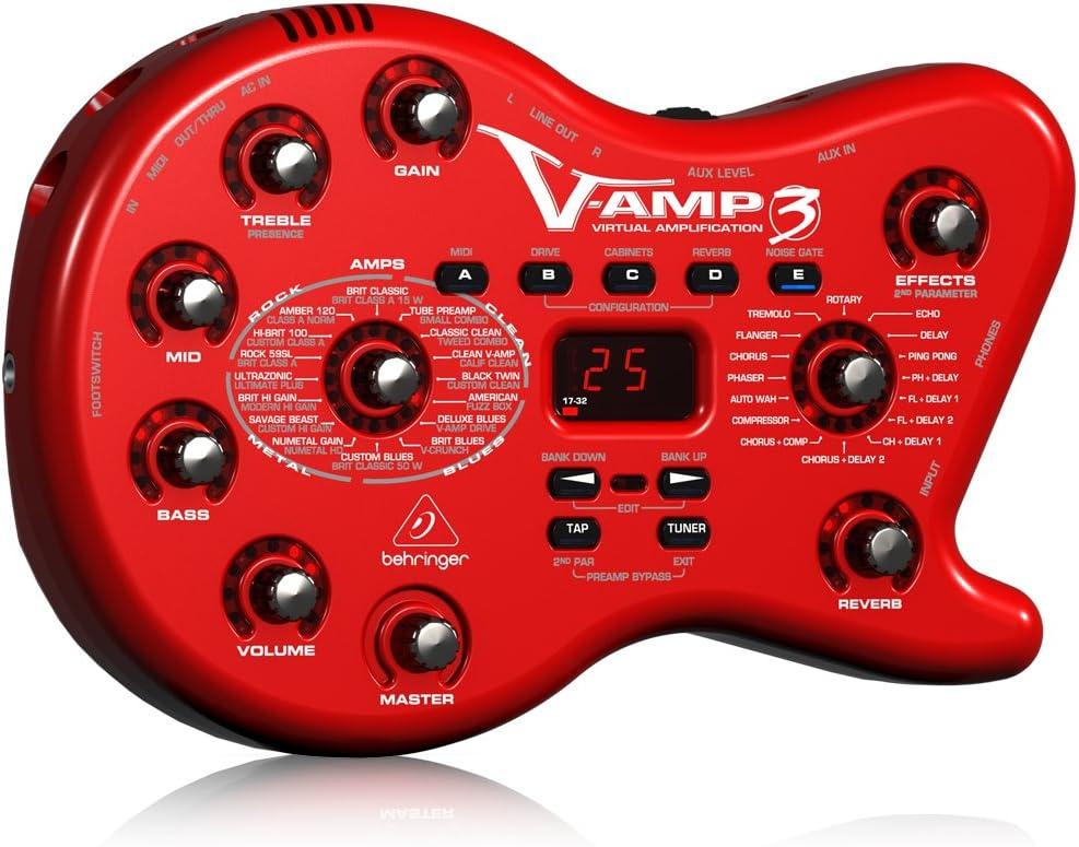 Behringer V-AMP3 - Amplificador Virtual para Guitarra: Amazon.es ...