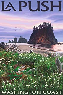 product image for La Push, Washington - Coast (24x36 Giclee Gallery Print, Wall Decor Travel Poster)
