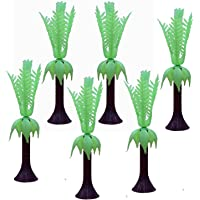 AsianHobbyCrafts Artificial Mini Trees Toys (6 Pieces)