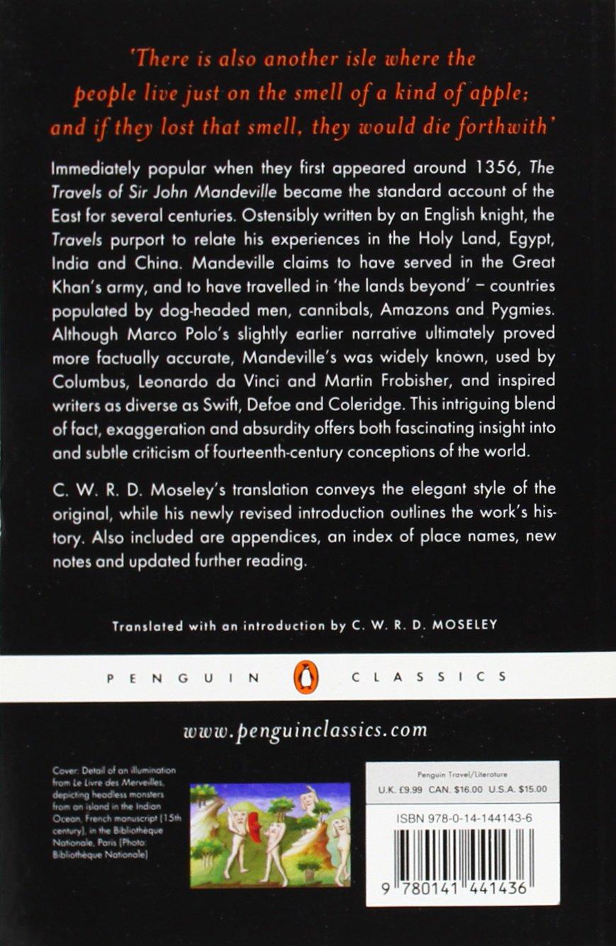 The Travels of Sir John Mandeville (Penguin Classics): Amazon.de ...