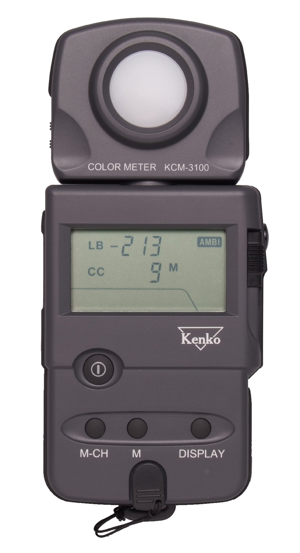 Kenko KCM-3100 Color Temperature and Filtration Meter by Ken Telloian Music