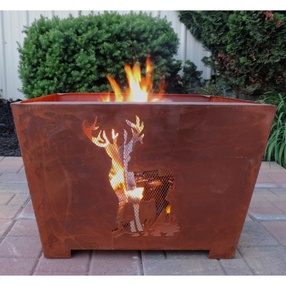 Esschert Design Nature Scene Fire Basket