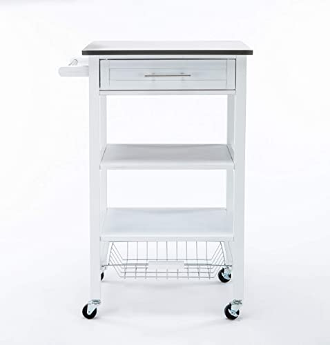 Boraam Industries Hennington Kitchen Cart