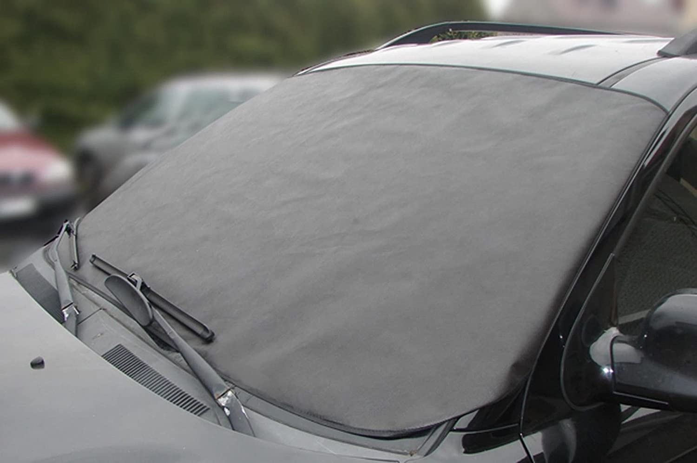 Car Windscreen Anti Frost Winter Protection Foil Cover Mat Sun Block Summer HQ Sola