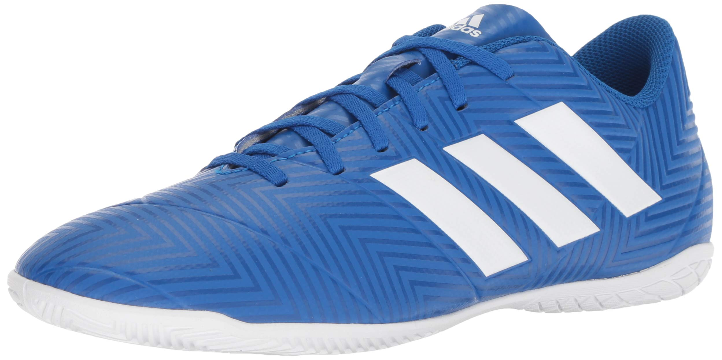 9f3b9384bb adidas Men's Nemeziz Tango 18.4 Indoor Soccer Shoe, Football  Blue/White/Football Blue, 10.5 M US