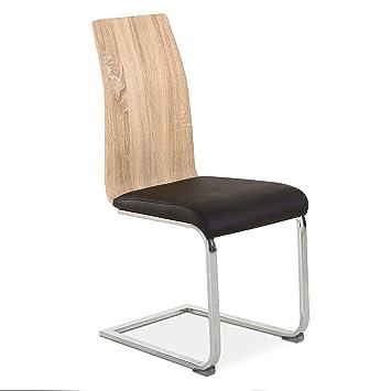 DISTRIGAL.SL HomeSouth - Pack 4 sillas de Comedor, Silla de salón o ...