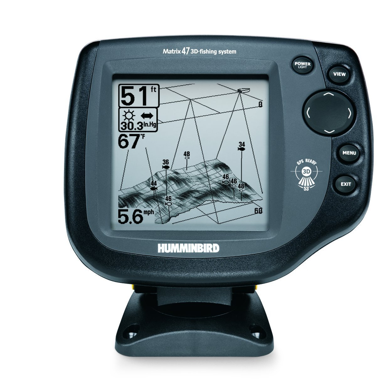 Humminbird matrix 47 3d инструкция