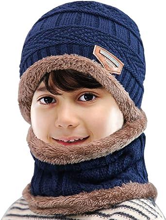 Nouveau-né Enfants Garçons Filles Mignon /& à la Mode Hiver Chaud Bonnet Pom Pom Bobble Hat