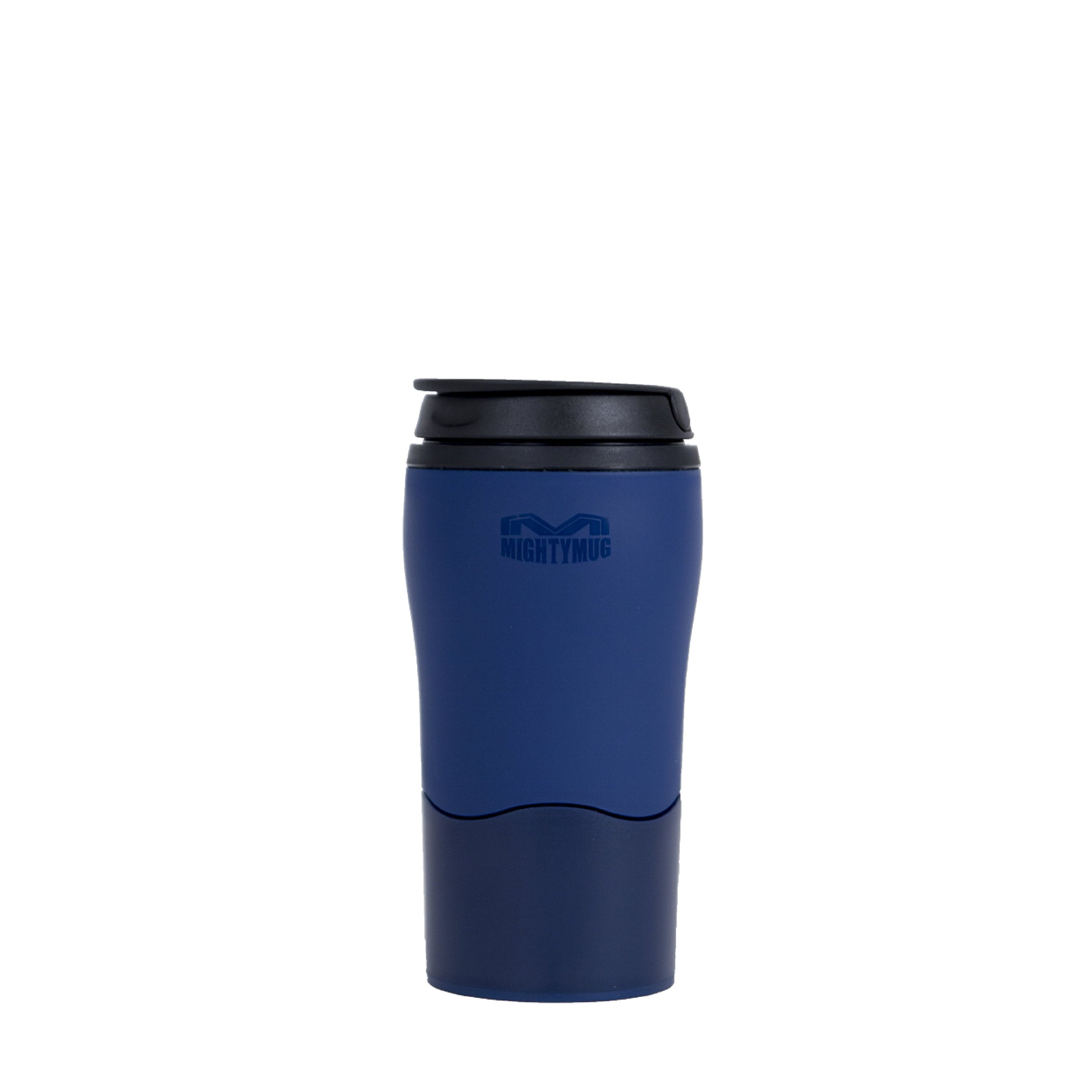 Mighty Mug 1976 Solo 12oz Travel Mug Single Serve, Blue
