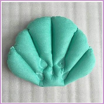 Amazon.com: Yunzee - Almohada de baño inflable de rizo súper ...