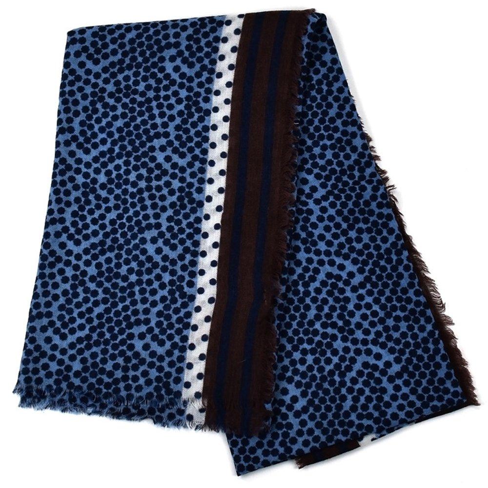 アルテア ALTEA ストール 2015年 秋冬 0364 マフラー [並行輸入品] B01LZ3UA16 BROWN_BLUE BROWN_BLUE