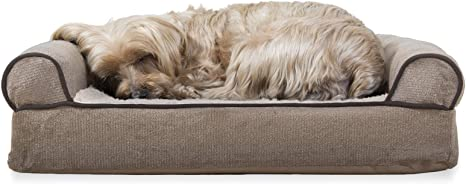 Furhaven Pet - Plush Orthopedic Sofa,