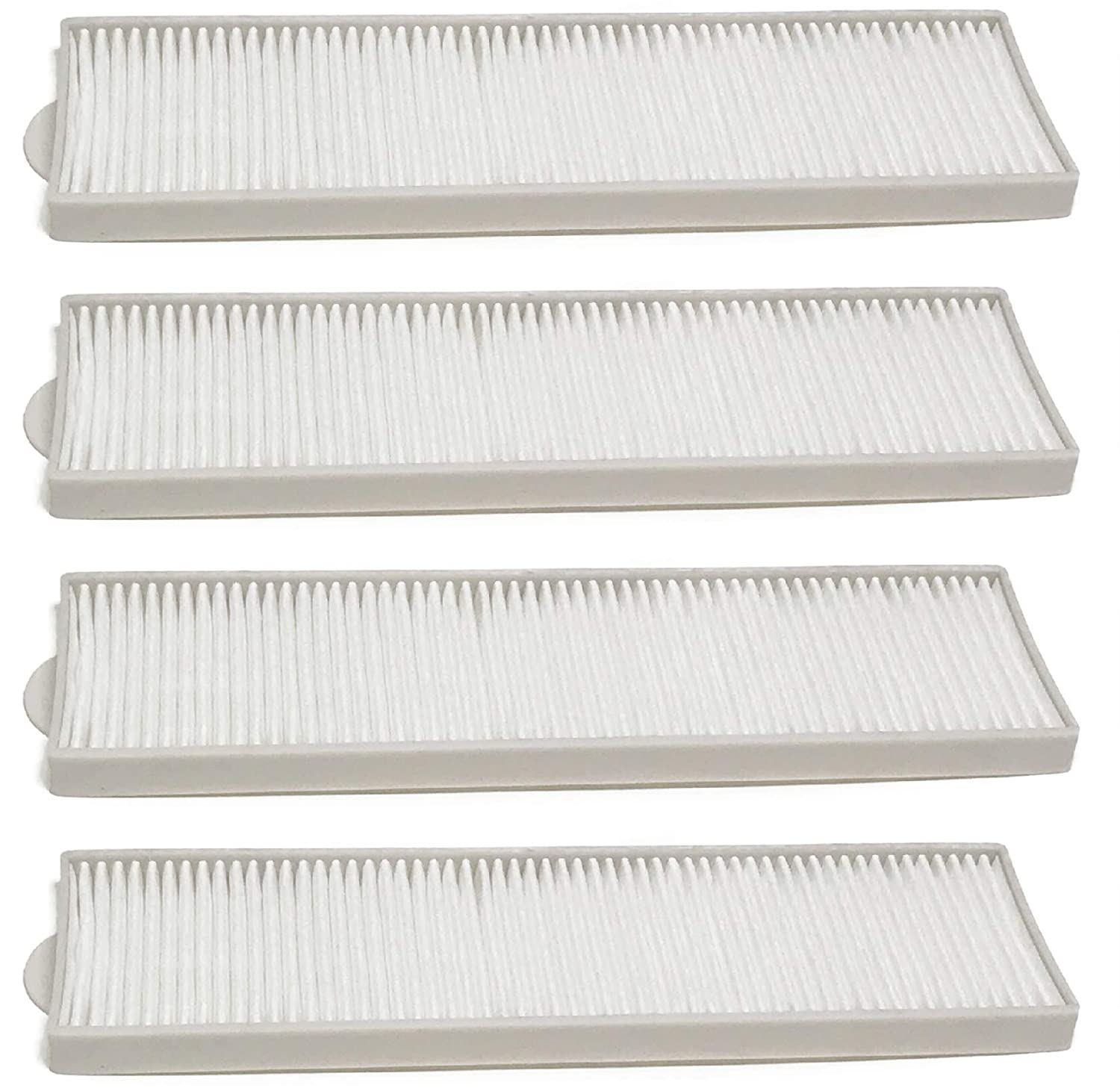 Nispira Replacement Style 8 and 14 HEPA Filter Compatible with Bissell Upright Vacuum Part #3091. Fits 3750/6595 Bissell Lift-Off series. 4 Filters