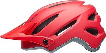 Bell 4Forty - Casco de Bicicleta - Rojo Contorno de la Cabeza M | 55-