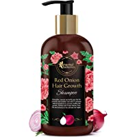 Oriental Botanics Red Onion Hair Growth Shampoo, 300ml - With 27 Hair Boosters Controls Hair