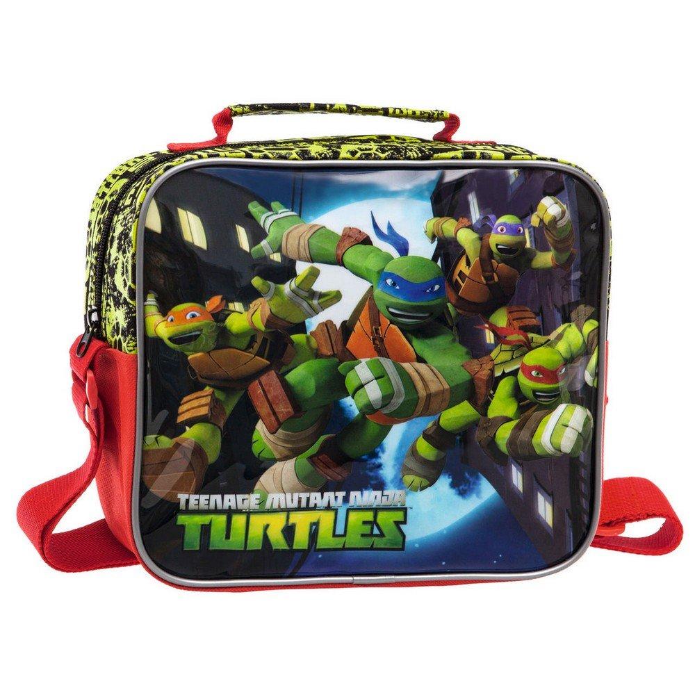 Tortugas Ninja Neceser Bandolera Adaptable a Trolley, 5.32 litros