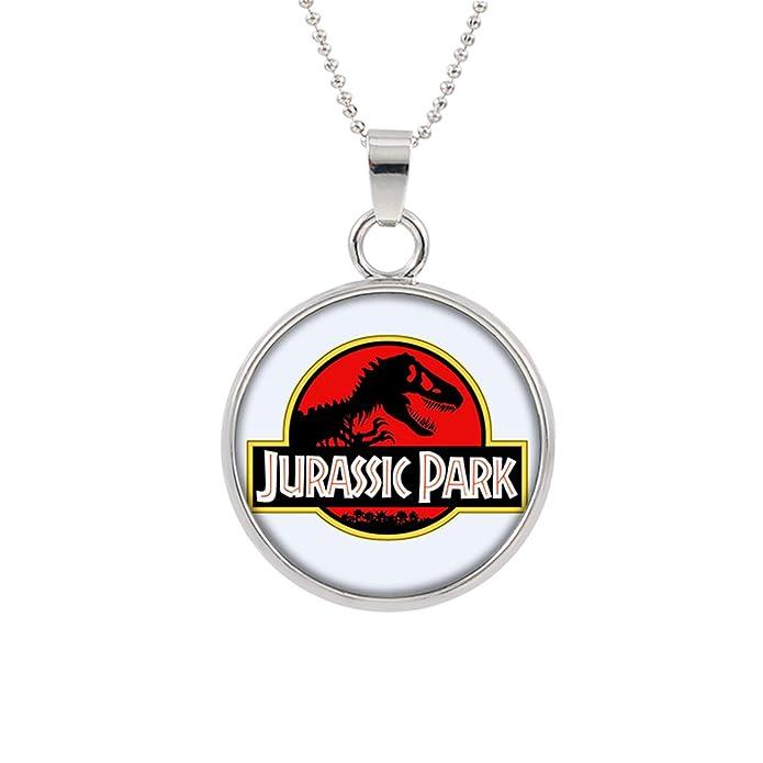 Amazon.com: Superhéroes marca Jurrasic Park collar con ...
