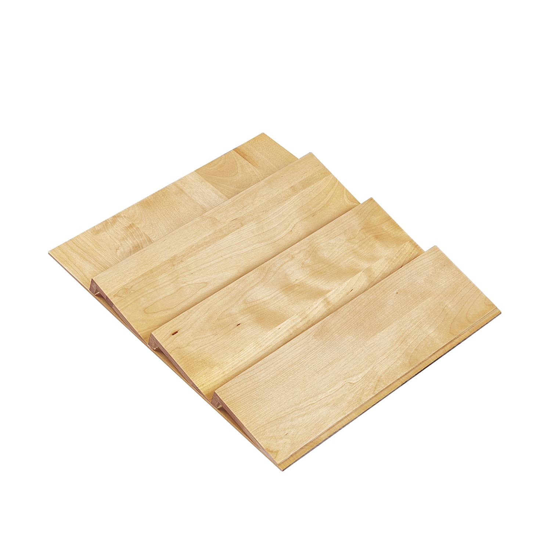 Amazon.com: Rev A Shelf   4SDI 24   X Large Wood Spice Drawer Insert: Home  U0026 Kitchen