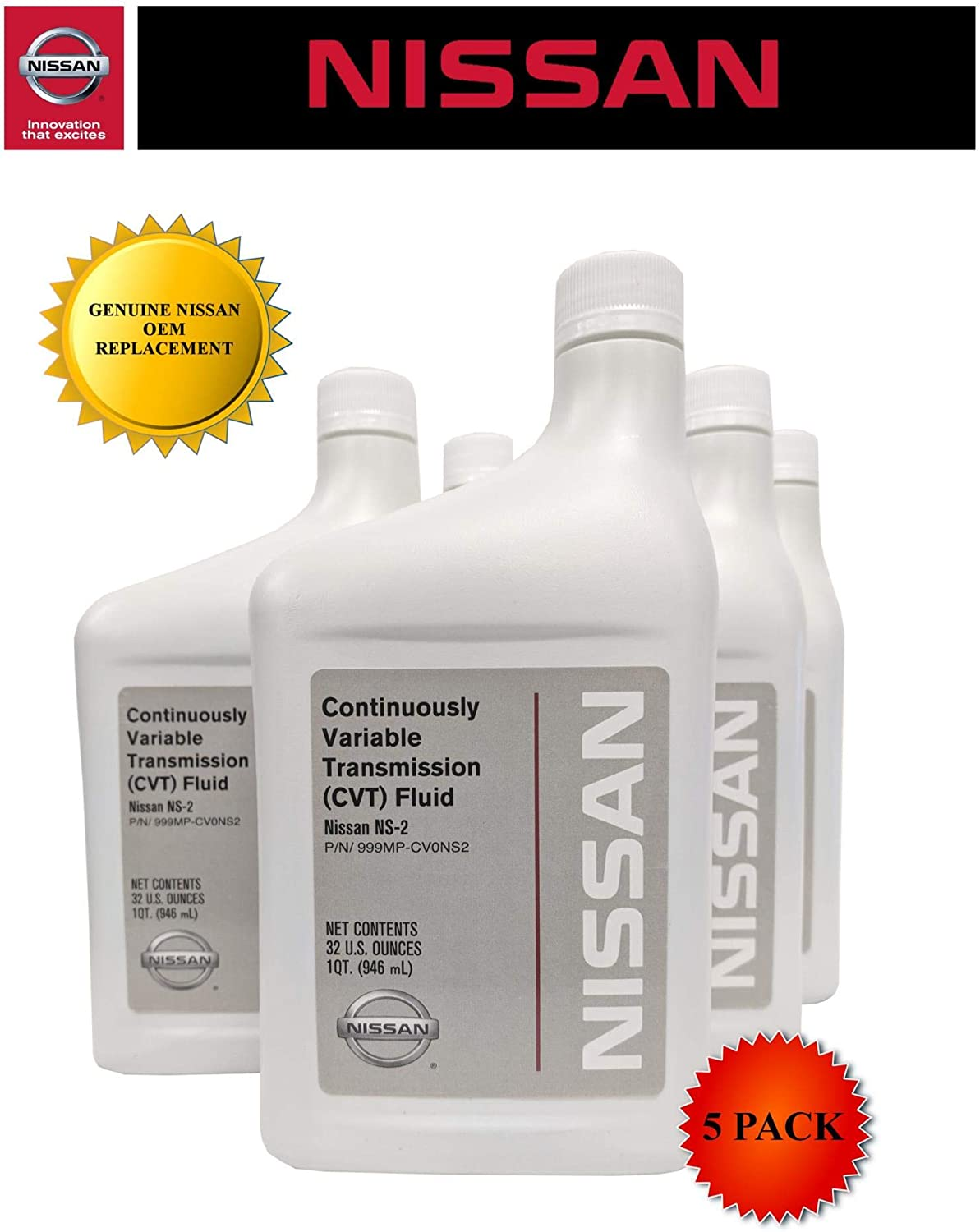 Genuine Nissan OEM CVT-2 Transmission Fluid