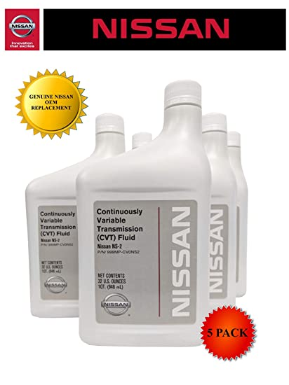 Genuine Nissan OEM CVT-2 Transmission Fluid 999MP-NS200P (5 Quarts)
