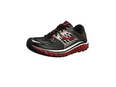 Brooks Glycerin 14, Men's Competition Running Shoes, Black (Black/high Risk Red/anthracite), 6 UK (40 EU)
