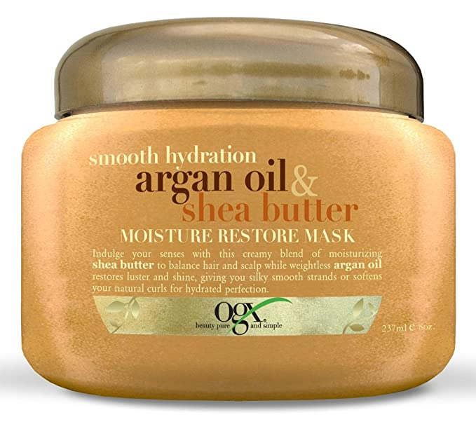 (OGX) Organix Argan Oil & Shea Butter Restore Mask 8oz Jar