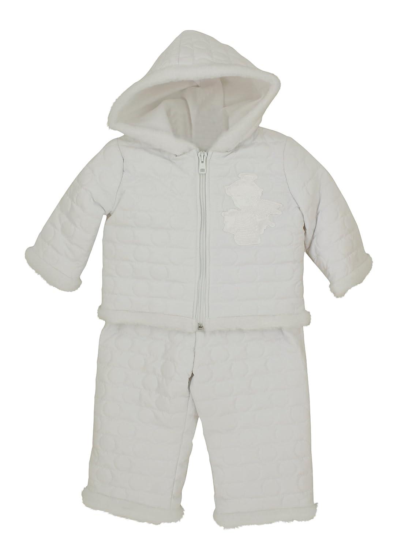 Boutique-Magique Vêtement baptême mixte blanc hiver