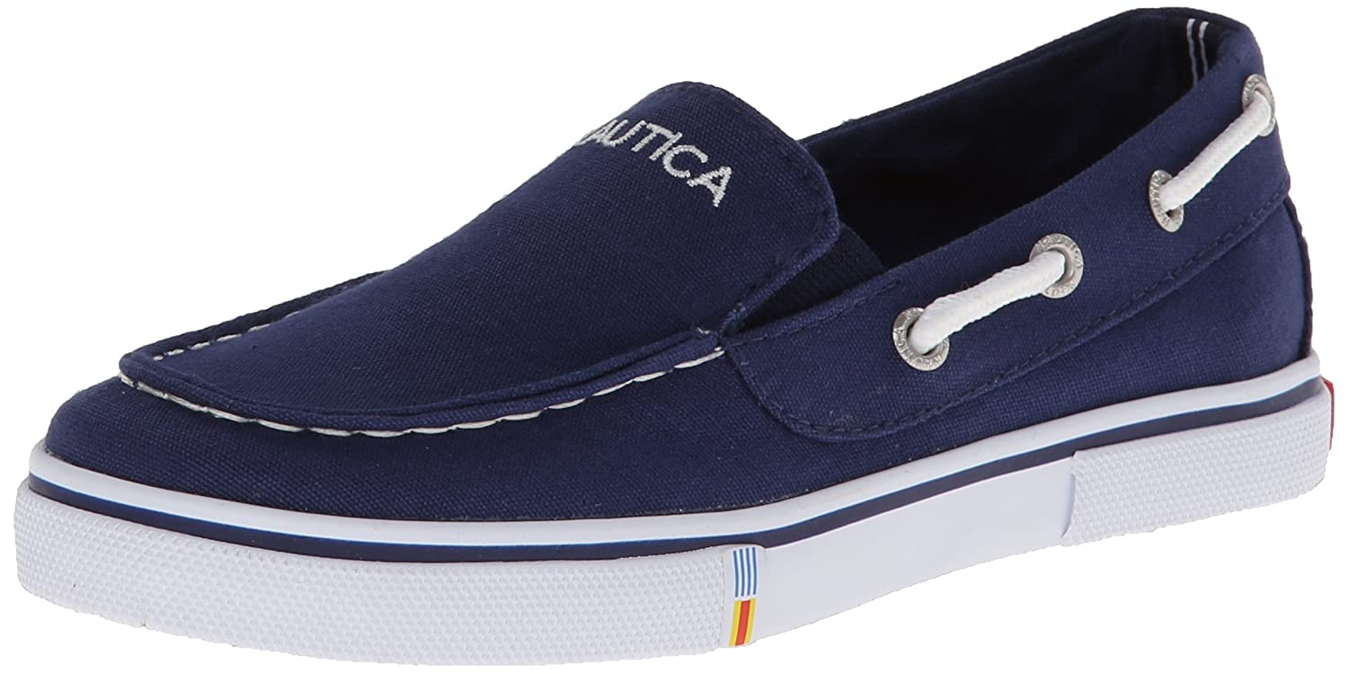 Nautica Doubloon Youth Canvas Twin Gore Slip On (Little Kid/Big Kid) DOUBLOON - K