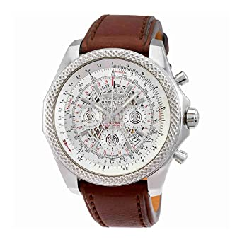 Breitling Bentley Watches >> Amazon Com Breitling Bentley B06 Automatic Silver Dial Mens