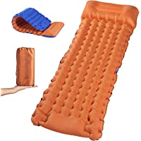 Self Inflating Sleeping Pad for Camping - Extra Thickness & Compact Lightweight Camping Mattress Waterproof Camping Mat…