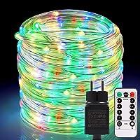 Mangueras LED de exterior 336 LED, ECOWHO Extensible