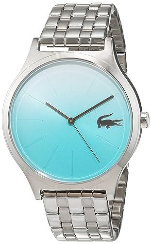 Lacoste Reloj Análogo clásico para Mujer de Cuarzo con Correa en Acero Inoxidable 2000994: Lacoste: Amazon.es: Relojes