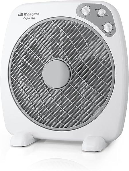 Orbegozo BF 0140 - Ventilador Box Fan con función oscilante ...
