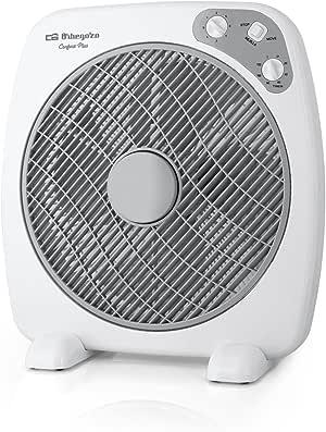 Orbegozo BF 0140 Ventilador Box Fan con 3 velocidades, difusor ...