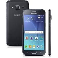 Smartphone Samsung Galaxy J2 Duos J200B, Preto, 8GB, Tela 4.7'', 4G, Android 5.1, 5MP, TV Digital