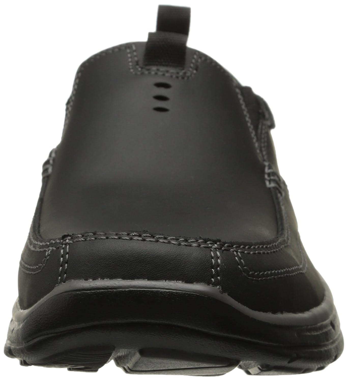 Skechers En Forma Relajada Más Valiente De Los Hombres Zapatos Sin Cordones Amazon j5Fvy3e