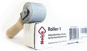 Noico Metal Barrel Roller Installation Tool for Automotive Sound Deadening Insulation Materials for Cars & Truck (Audio Dampening & Deadener Installation)