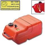 Tanica serbatoio portatile per carburante barca regolamentare con livello