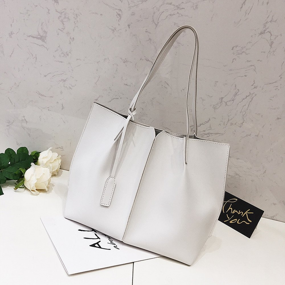Brötchen-Paket Einfaches Weibliches Paket Praktisches Allgleiches Beiläufige Handtasche , Weiß