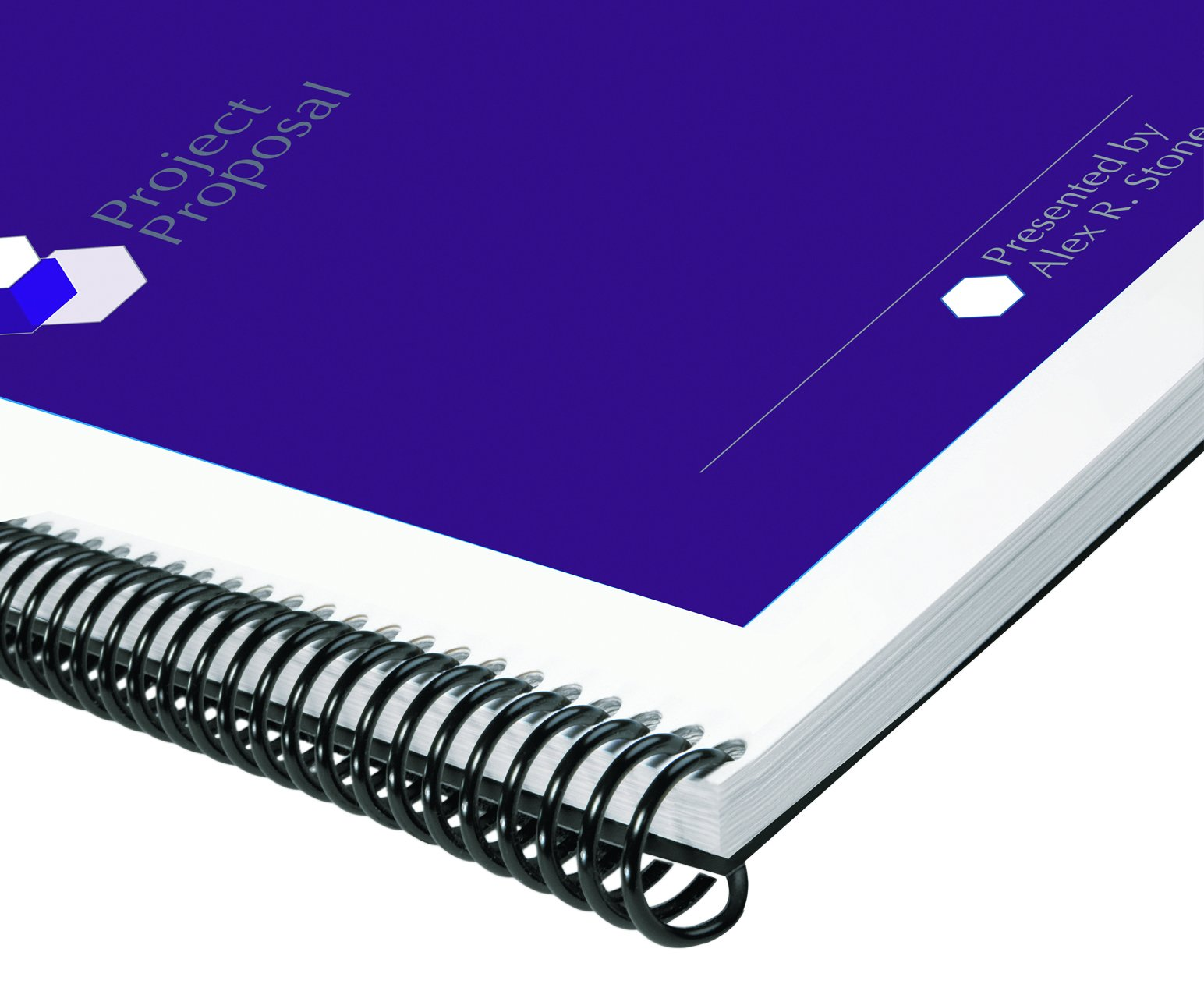 GBC Binding Spines/Spirals, 20mm, 160 Sheet Capacity, 4:1 Pitch, Color Coil, Black, 100 per Box (9665090G)