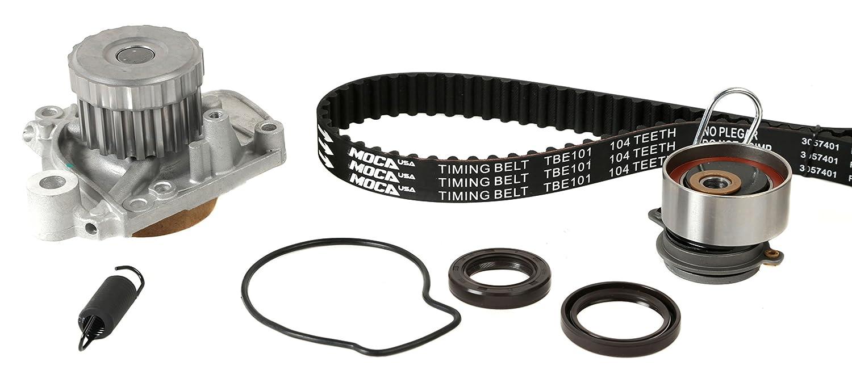 MOCA Timing Belt With Water Pump Kit for 2001-2005 Honda Civic 1.7L L4 D17A1 D17A2 D17A6 D17A7#TCK312