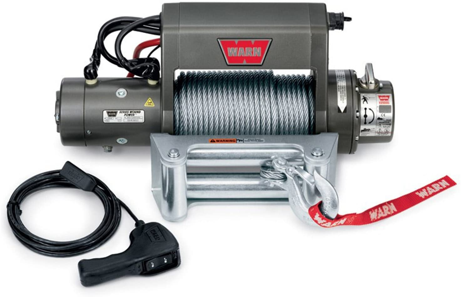 Amazon Com Warn 27550 Xd9000i 9000 Lb Winch Automotive