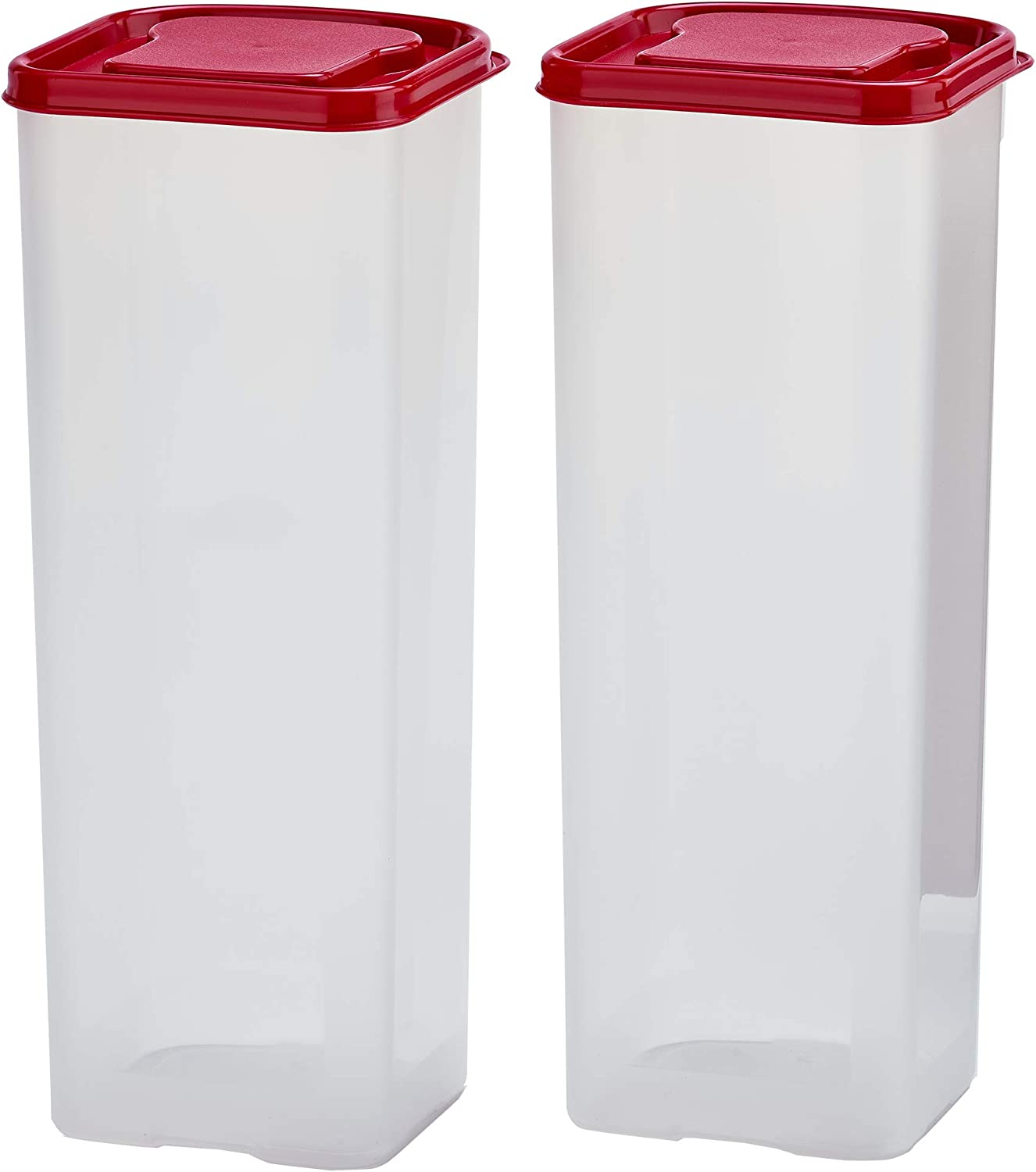Buddeez Bread Buddy 2 Pack Set w/Red Lids Dispenser, 2 Pieces
