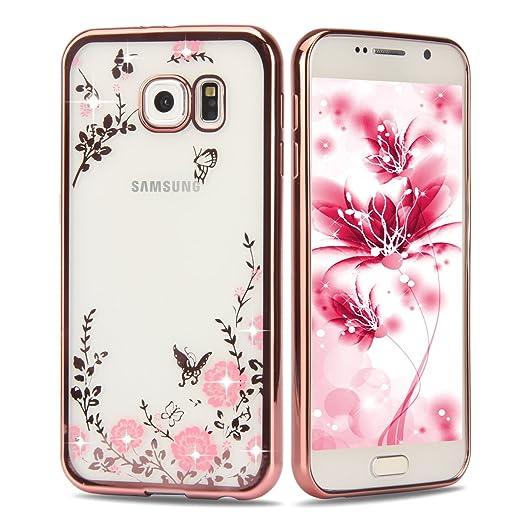 4 opinioni per Samsung Galaxy S7 TPU copertura, copertura della cassa della pelle trasparente