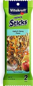 Vitakraft Hamster Treat Stick - Apple And Honey - 3.5Oz