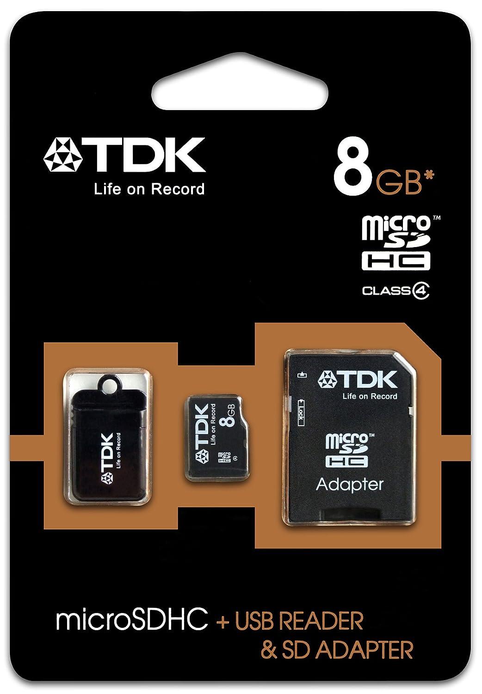 TDK T78918 - Tarjeta de memoria micro SD de 8 GB con ...