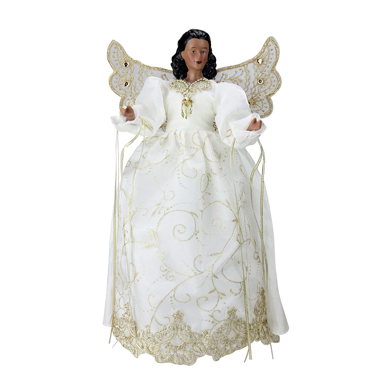 Amazoncom Roman 14 African American Angel With White And Gold